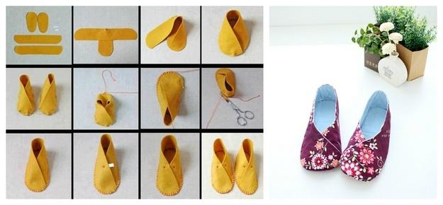 Простая обувь для куклы своими руками 67