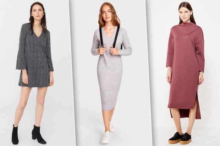 d1f48c99e80cf1 13 теплих і стильних суконь для осені - Жіночий Світ