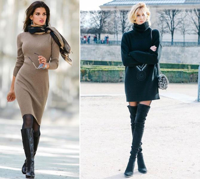 35f30be3c0edfc Теплі і стильні сукні, які стануть в нагоді взимку - Жіночий Світ