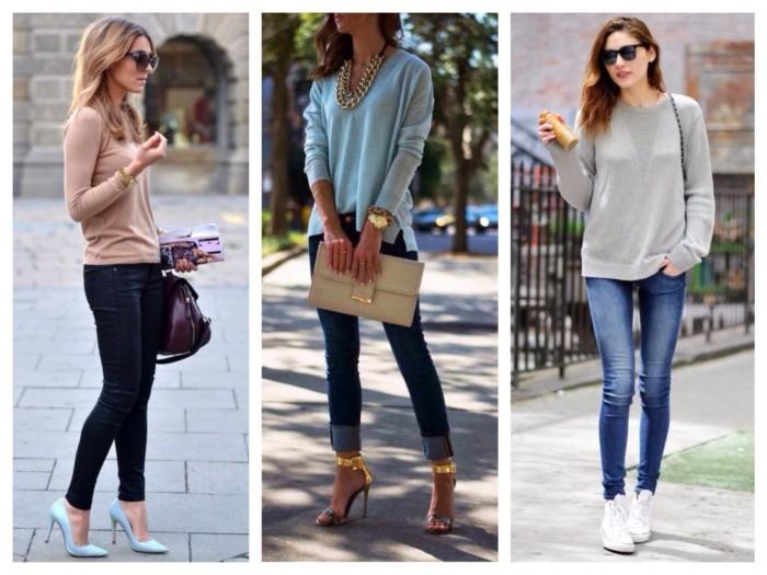 З року в рік мода на жіночі джинси продовжує розвиватися і радувати нас  своєю практичністю і універсальністю. Модні тенденції 2018 являють собою  кілька ... 82ae1acee4a4e