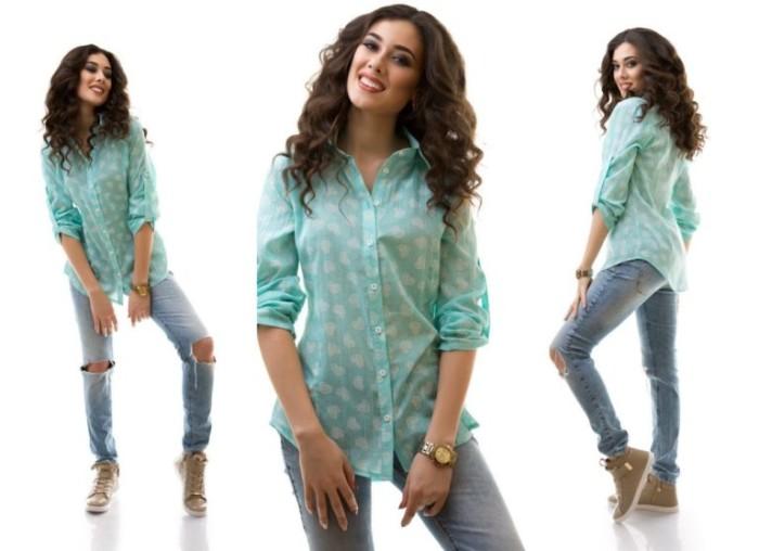Стильні і модні жіночі сорочки 2018 року від ModnaLady - Жіночий Світ 2f1aaeaceb463