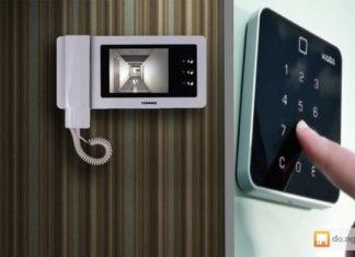 видеодомофон с вызывной панелью