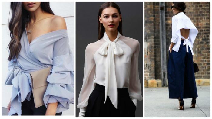Модні жіночі блузи та сорочки 2019  поради стилістів - Жіночий Світ a258ce70e71b2