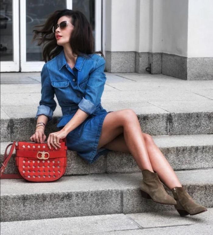 джинсові сукні