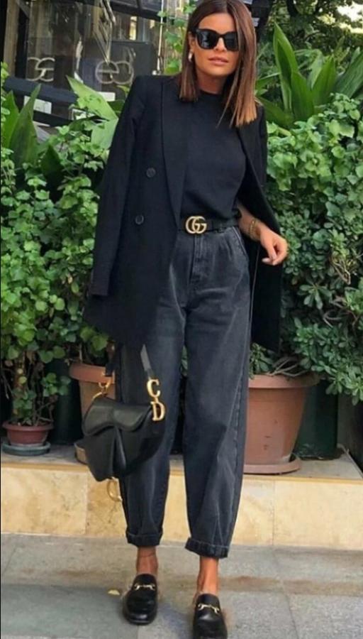 джинси у діловому стилі