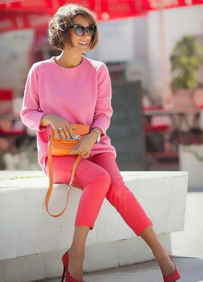рожевий і кораловий