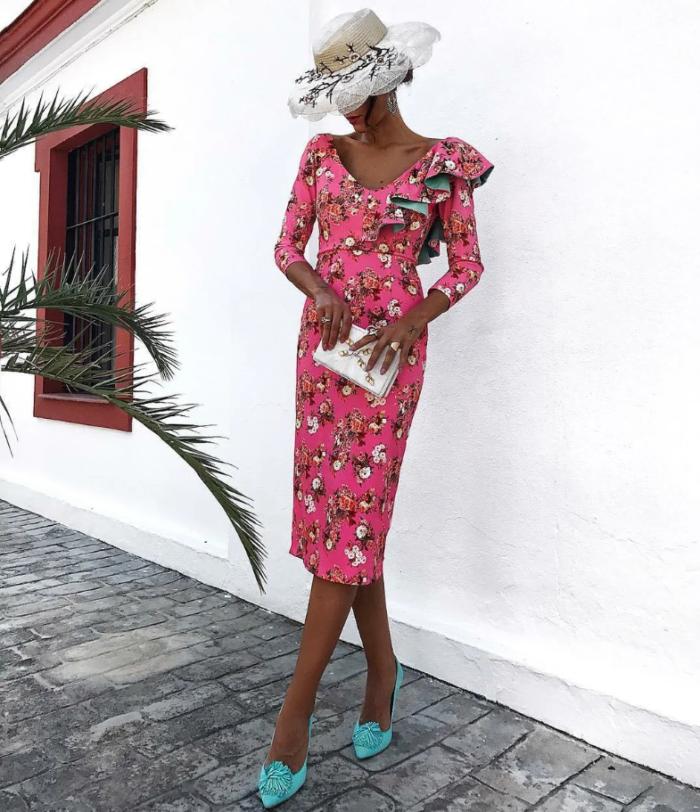 сукні з квітковим принтом