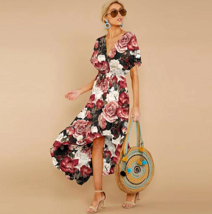 сукня з квітковим принтом 3