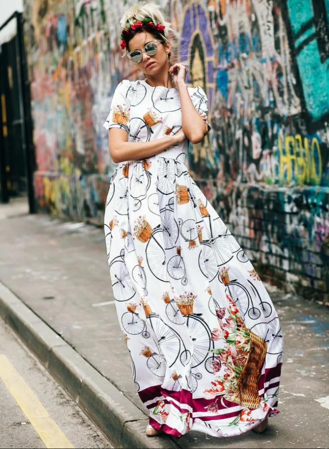 сукня з квітковим принтом 4