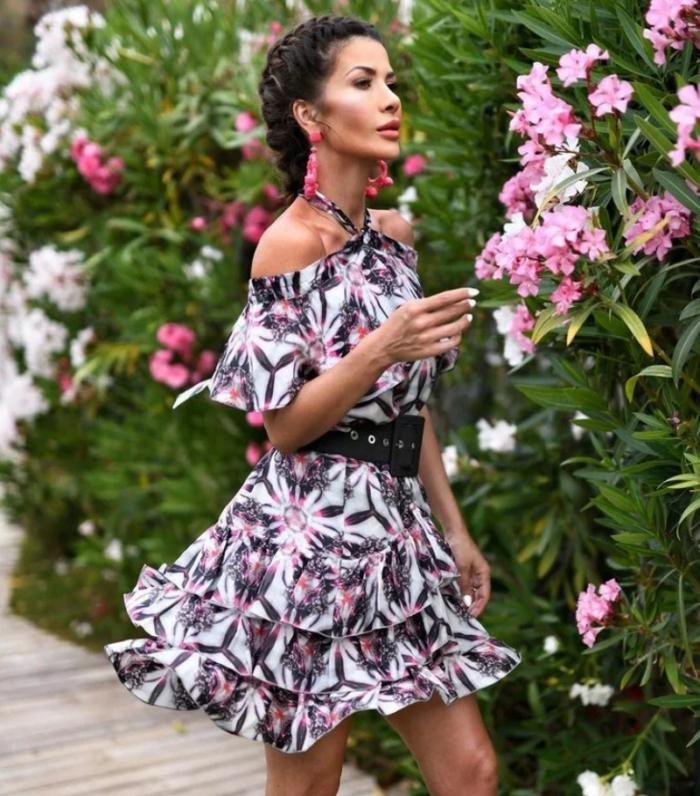сукня з квітковим принтом 6
