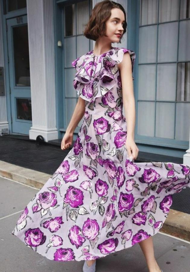 сукня з квітковим принтом 7