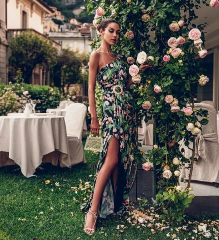 сукня з квітковим принтом 8