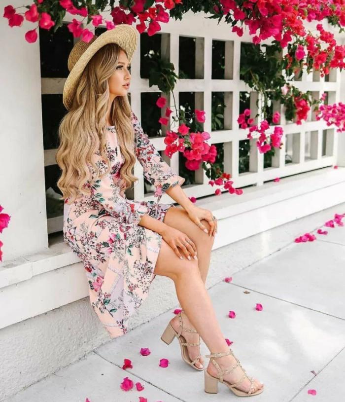 сукня з квітковим принтом 9
