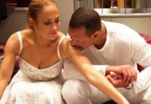 Дженніфер Лопес влаштувала нареченому сюрприз з поцілунком
