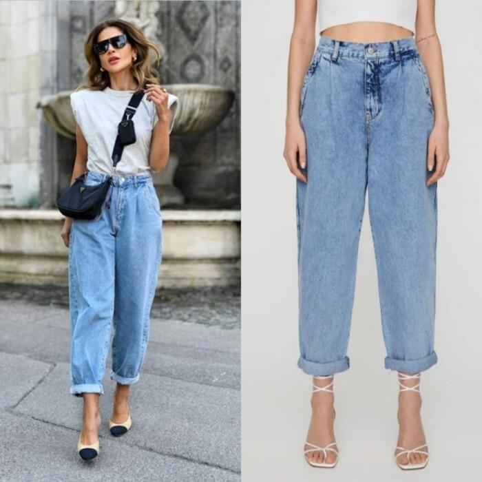 джинси слоуч