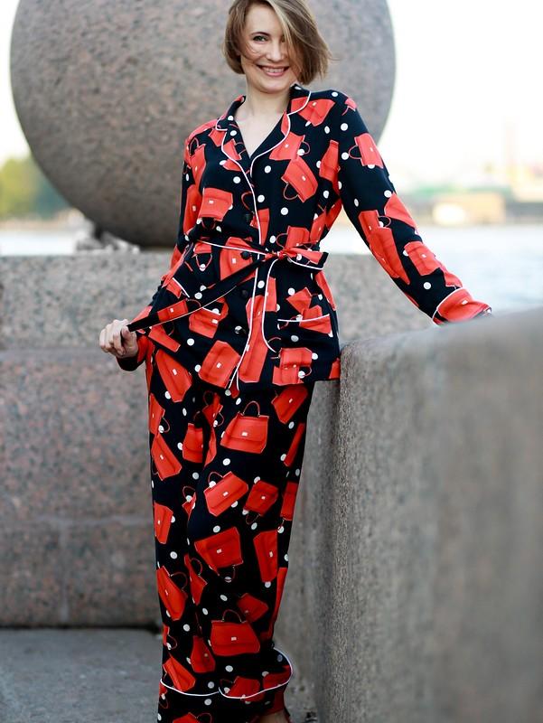 костюм в піжамному стилі 2