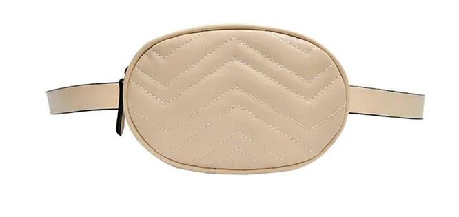 кругла поясна сумка