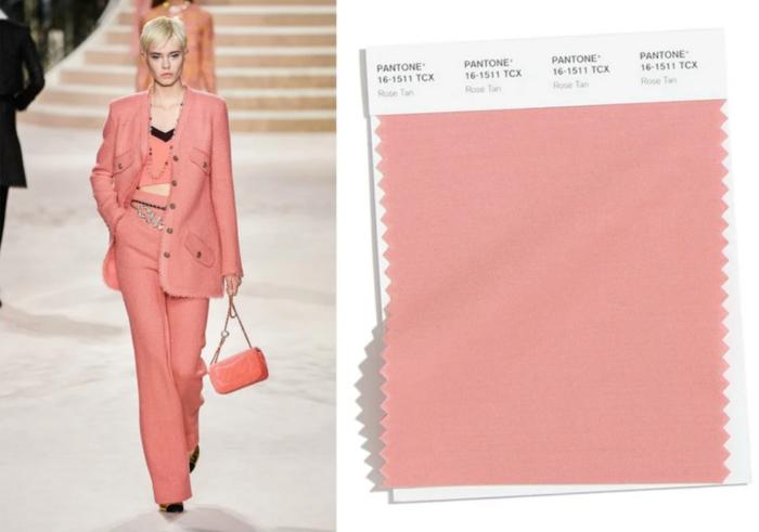 смагляво-рожевий Chanel, Pantone