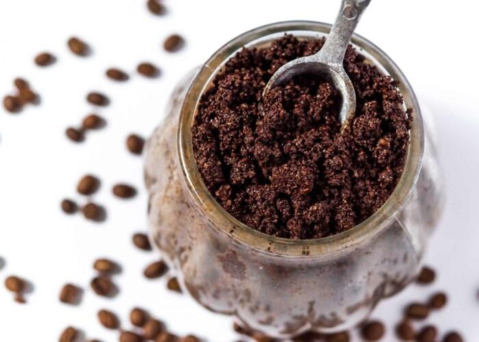 жорсткий кавовий скраб