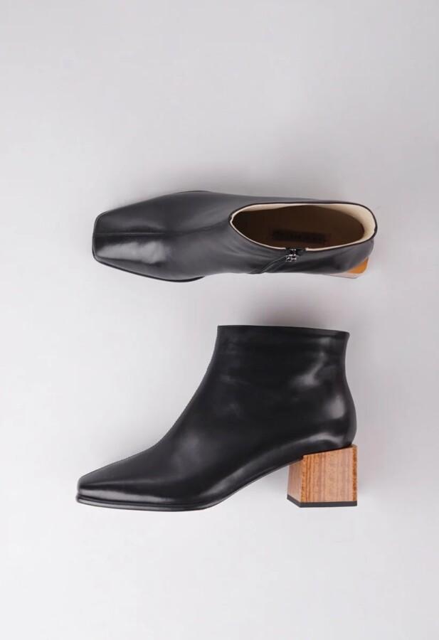 черевики на каблуку