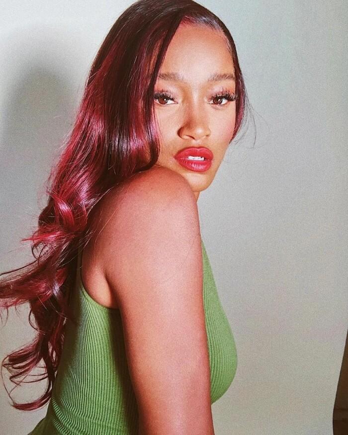 червоний відтінок волосся