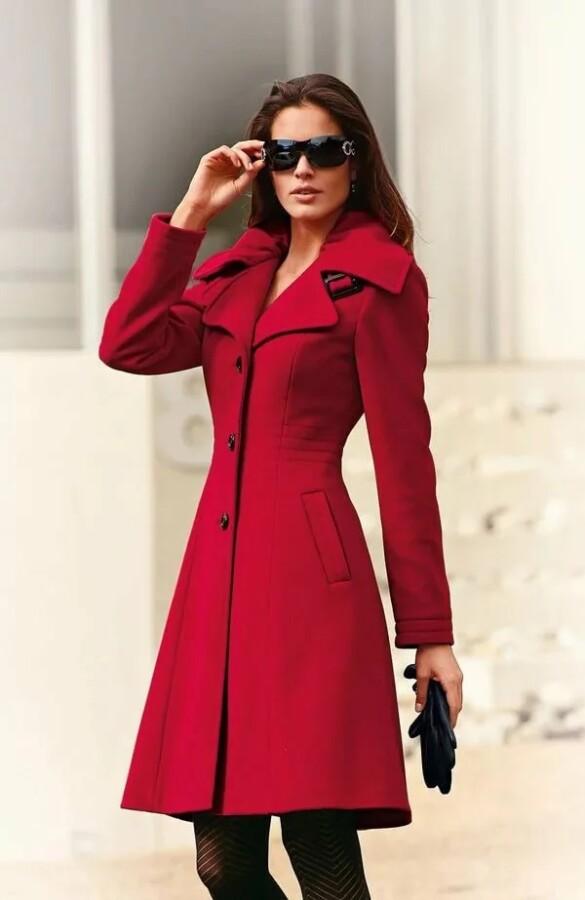 приталене пальто