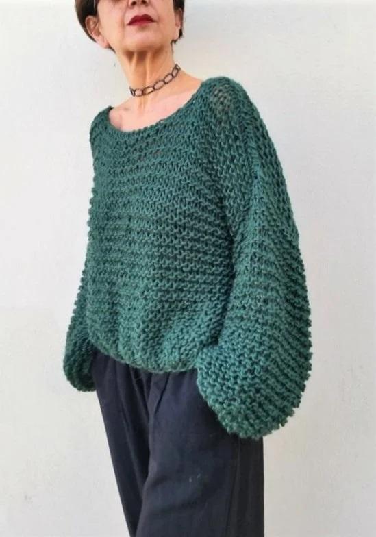 светри в стилі гарсон