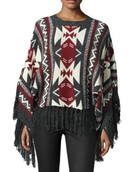 светри з бахромою