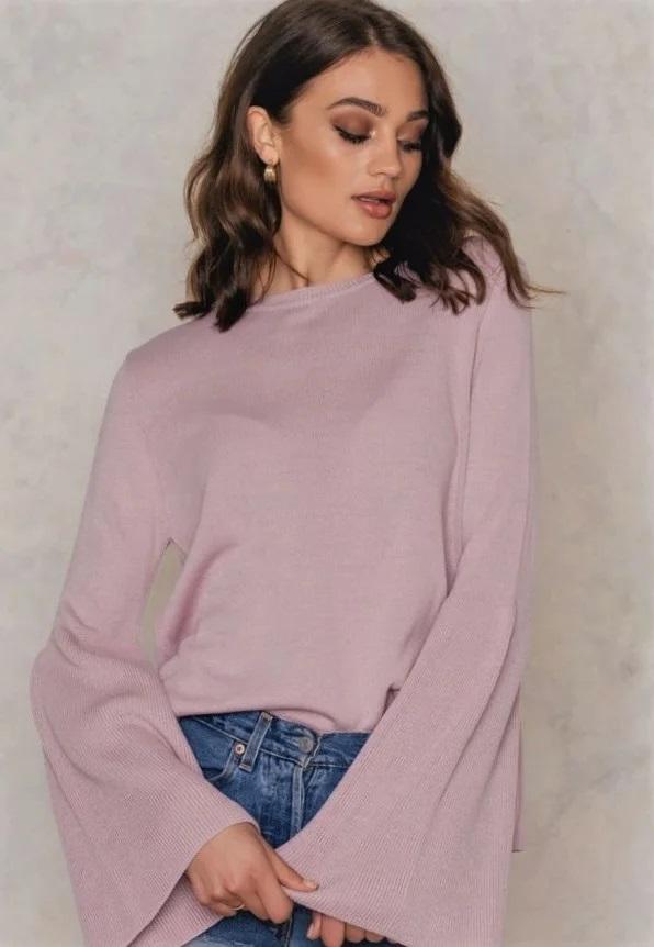 светри з об'ємними рукавами