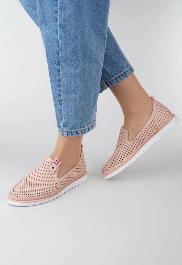 туфлі на низькій платформі