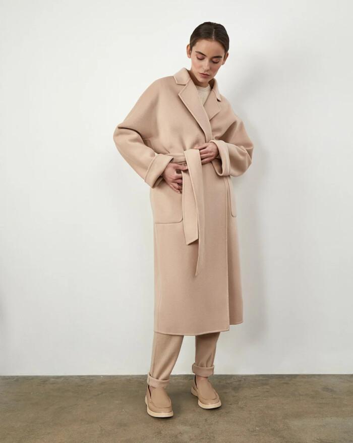 довге пальто