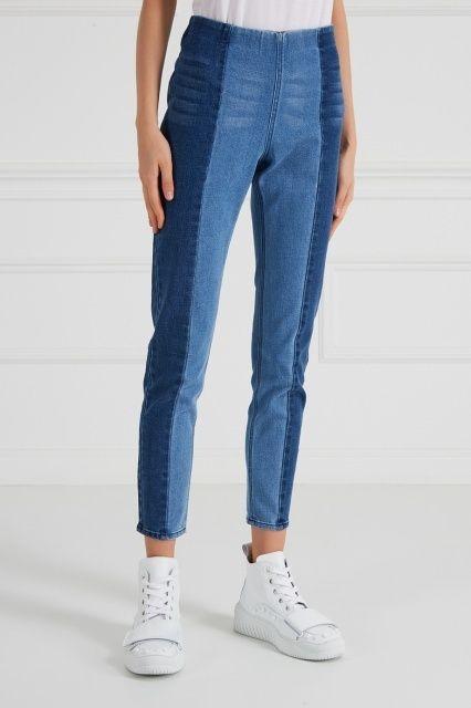 комбіновані джинси