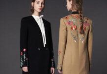 пальто з декором