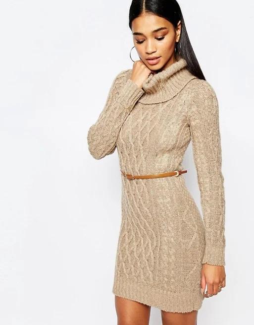 приталена трикотажна сукня