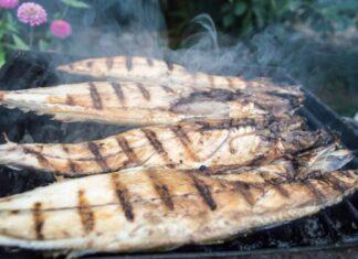 рибний шашлик