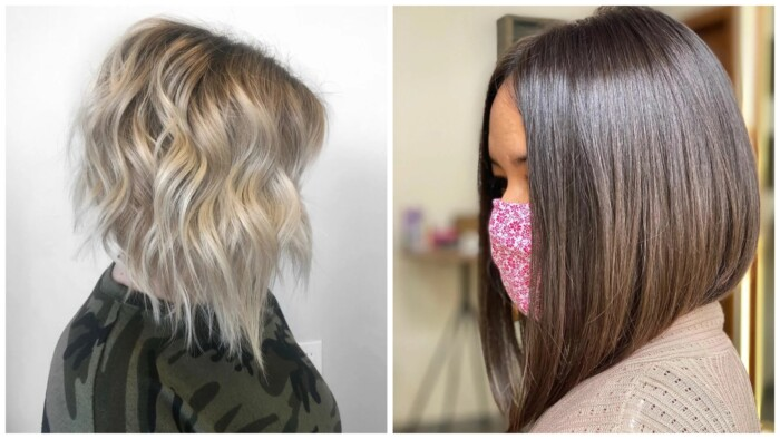 16 розкішних і модних стрижок для волосся середньої довжини на осінь 2020 для жінок 40-50 років