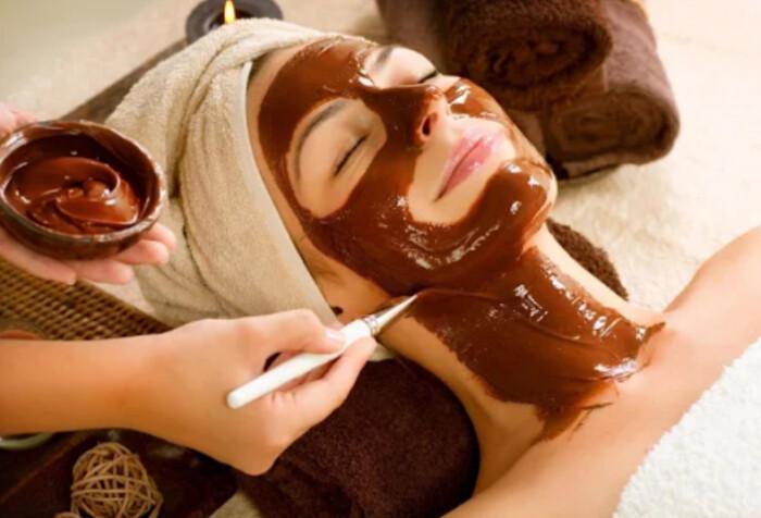 Вечірня маска для обличчя з какао від зморшок - результат з першого застосування